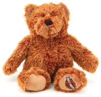 This soft cuddly teddy bear measures 12